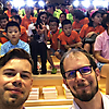 Markus & Hanno in der 'Yanlord Academy of Stream in Cloud / 溪云书院' 2019 (Foto: Archiv)