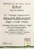 Konzertprogramm Erfurt 2016 (Front, Abschlusskonzert Festival