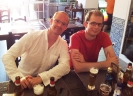 Mathias und Hanno in Albufeira. (Foto: Archiv)
