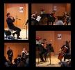 Giorgi Kalandarishvili, Anna Kaczmarek-Kalandarishvili, Anton Bonev & Tamara Melikian beim Großen Abschlusskonzert der