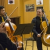 Alexey (Shestiperov) & Sebastian Chong beim 'Cellism-Release-Konzert' innerhalb der
