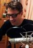 Thilo Andersson im Tonstudio in Weimar, November 2012, während der Aufnahmen zur EP
