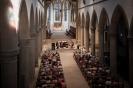 Die Vier EvangCellisten bei ihrem Konzert in der Liebfrauenkirche Ravensburg innerhalb der