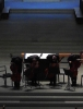 Die Vier EvangCellisten während ihres Konzertes in Ravensburg 2016 (innerhalb der