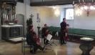 Die Vier EvangCellisten während ihres Konzertes in Treuchtlingen 2016 (innerhalb der