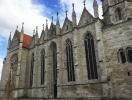 Die Bachkirche Divi Blasii in Mühlhausen (Thüringen) vor dem Eröffnungskonzert der