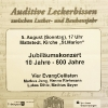 Konzertplakat Mattstedt 2018