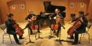 Hof 2013 (Foto: Michael Giegold, giegold-profot bild und film) Die Vier EvangCellisten beim Festivalkonzert