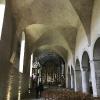 Zwei der Vier EvangCellisten in Ilsenburg 2019 vor dem Konzert in der Klosterkirche (Foto: Archiv)