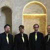 Die Vier EvangCellisten in Ilsenburg 2019 (Foto: Sebastian Chong, Archiv)